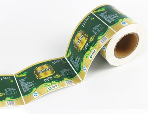 大豆油不干胶印刷